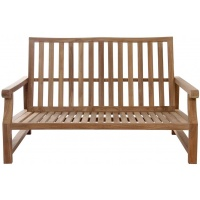 King's Lounge Loveseat, 2S, Teak