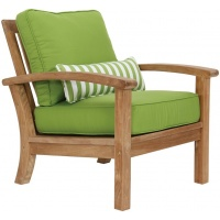Carlisle Lounge Club Armchair, Teak