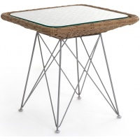 Amalfi Side Table, Sq