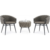 SORRENTO CHAIR AND SIDE TABLE SET