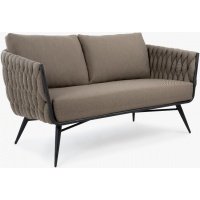 Manicotti Lounge Loveseat, 2S