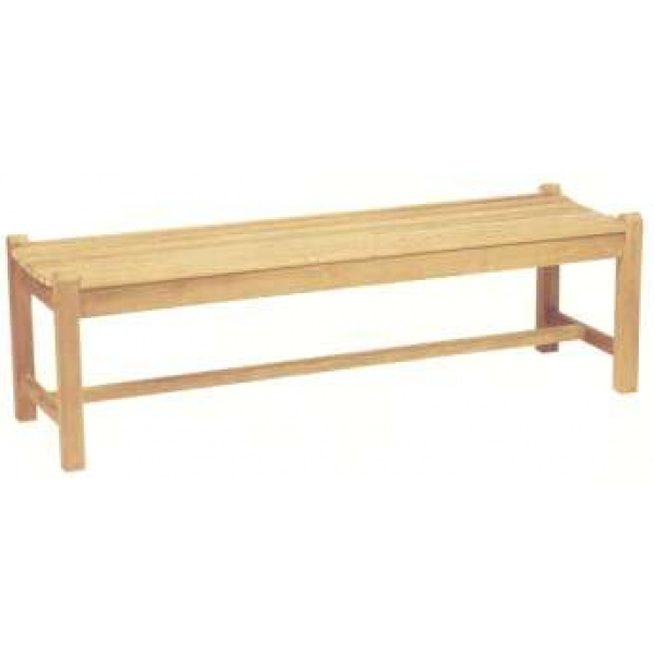 Halifax Backless bench, 4S