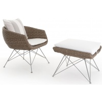 Amalfi Lounge Club Armchair