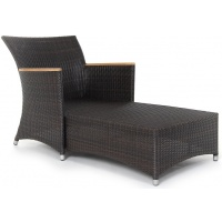 Cordoba Lounge Chaise, with Arms