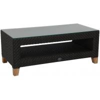 Tanzania Coffee Table w shelf, Rect