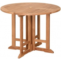Thames Dining Table, Round, Folding, Multi Sizes