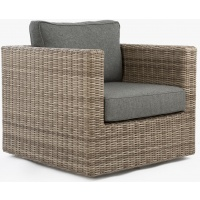 Tobago Lounge Club Armchair, Swivel