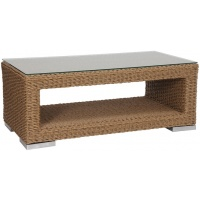 Torino Coffee Table, Rect w shelf. Multiple Sizes