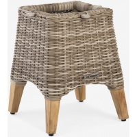 Tanzania Side Table, Rnd/Sq, Base ONLY
