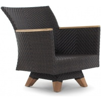 Zanzibar Lounge Club Armchair, Swivel