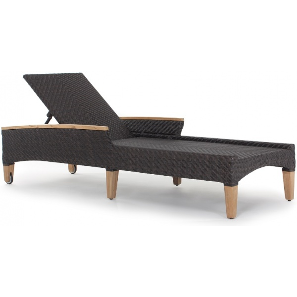 Tanzania Chaise, with Arms