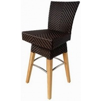 Zanzibar Bar chair, with Swivel