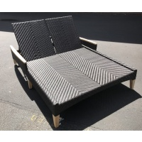 Zanzibar Chaise, Double, with Arms