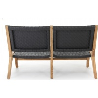 Hagen Lounge Loveseat, 2S