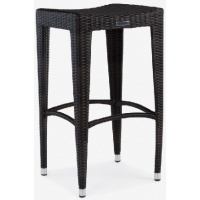 Napoli Bar Stool, Backless, Rect