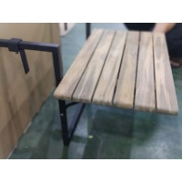 Firenze Dining Table, Rect, Folding