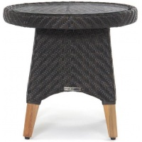 Zanzibar Side Table, Rnd/Sq, Base ONLY