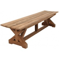 Paniolo Backless Bench, Multiple Sizes
