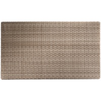 Rectangular Tabletop, Woven, Multiple Sizes