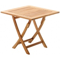 Perth Dining Table, Sq, Folding