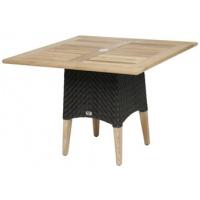 Zanzibar Dining Table, Base ONLY, Rnd/Sq, Multiple Sizes