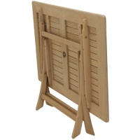 Perth Dining Table, Rect, Folding