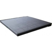 Square tabletop, Woven, Multiple Sizes