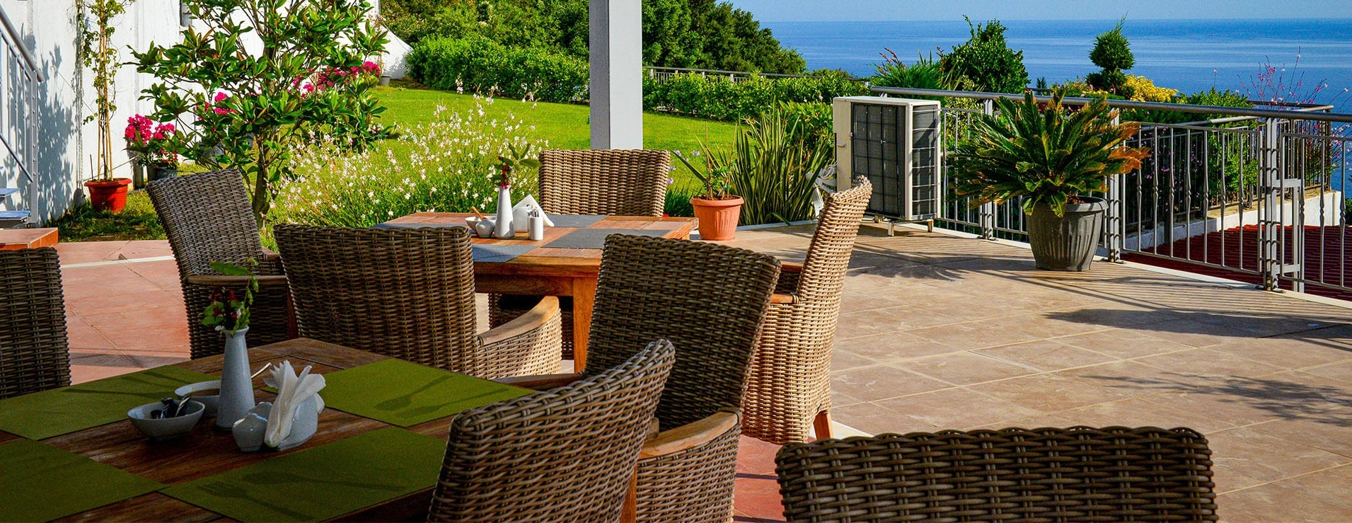 What is AN outdoor dining room?