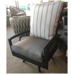 Granada Lounge Swivel Club Armchair, Highback