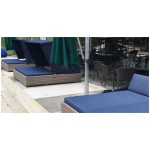 Londrina Rectangular Daybed, with Canopy